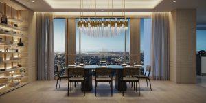50 Scollard Condo Dining Room